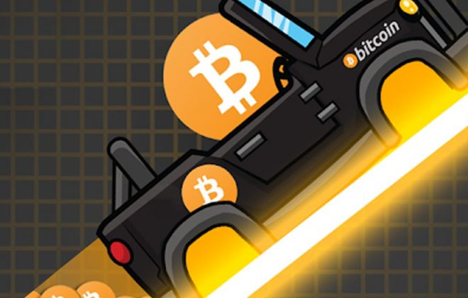 Crypto Rider - Das Line Race Game für Crypto-Anleger