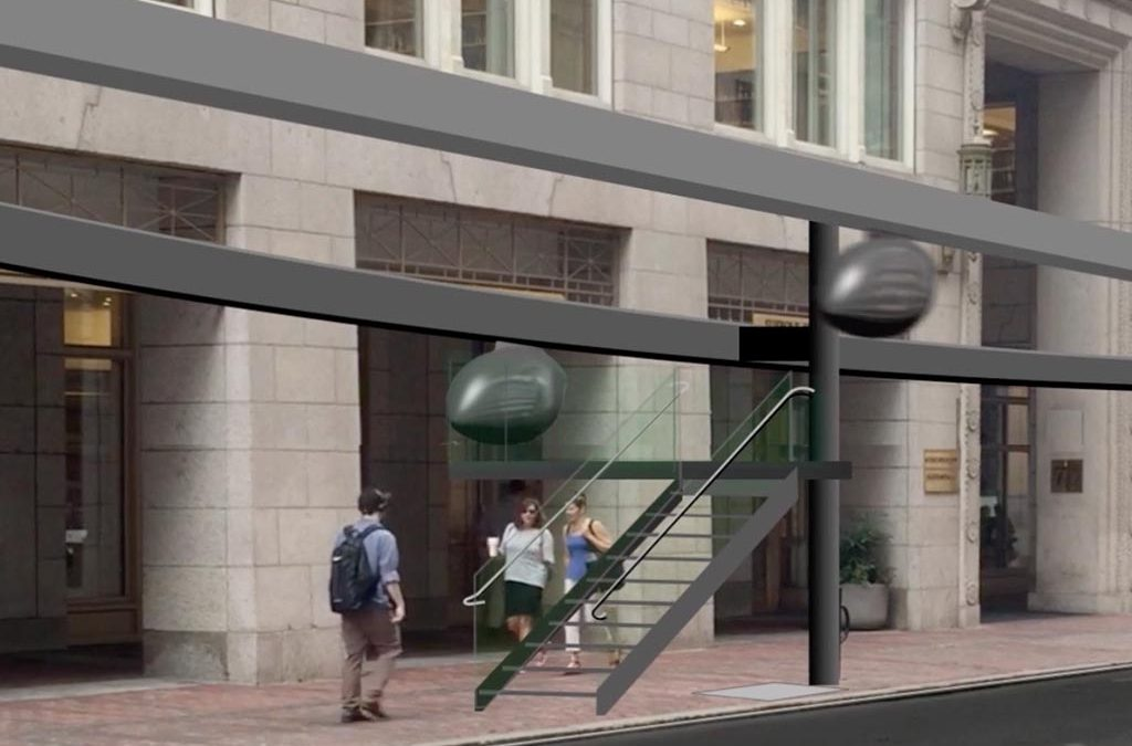 Transit X - Schwebe-Pods sollen urbanen Verkehr entspannen