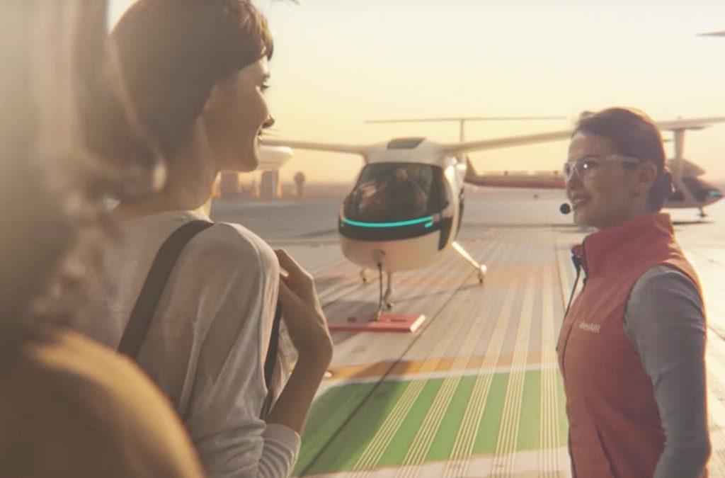 uberAIR: Uber veröffentlicht erste Visionen seines Flug Taxis uberAIR